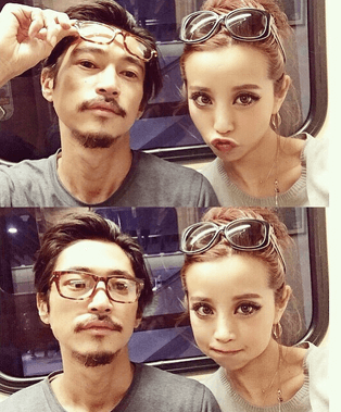 PINKY菅原優香と窪塚洋介3