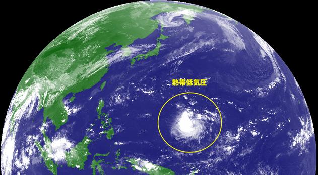 台風18号発生か温帯低気圧で予兆あり