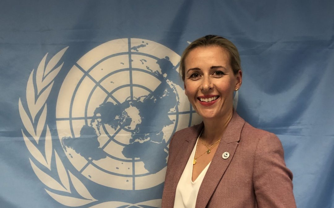 Meat Business Women addresses United Nations