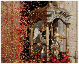 Celebrations of the patron saints St. Michael the Archangel and St. Catherine (Grammichele)