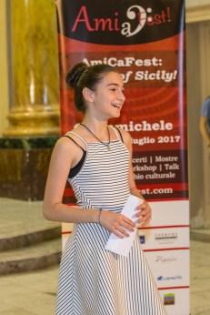 AmiCaFest 2017: Students Concert. Awarding scholarships. Chiesa di San Leonardo, Grammichele