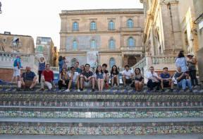AmiCaFest 2017: A walk around Caltagirone. Scala di Santa Maria del Monte, Caltagirone