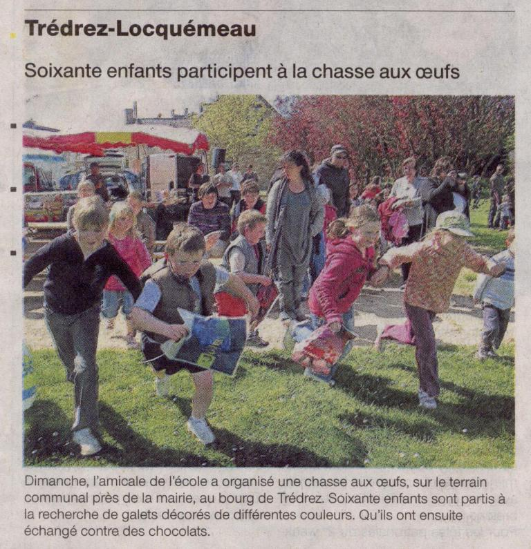 Ouest France 15 avril 2009