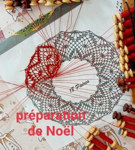 préparation de Noel