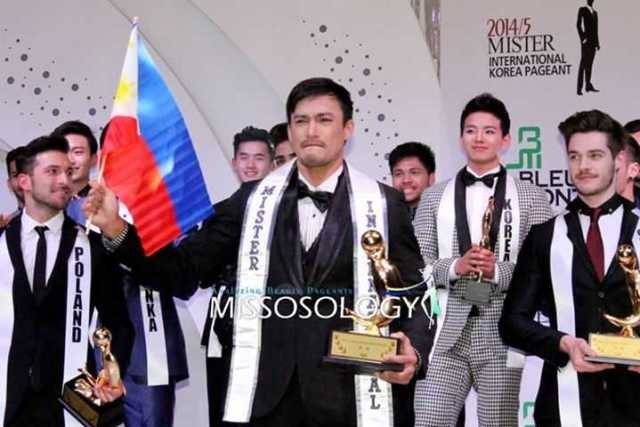 Mr. Philippines Neil Perez is Mr. International 2014