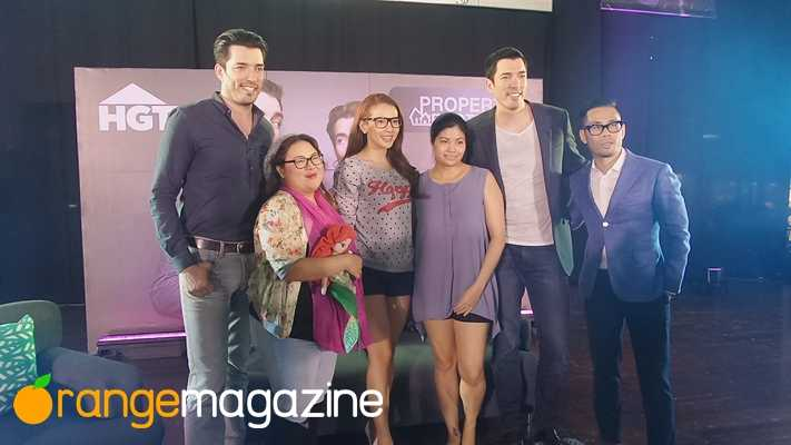 The Property Brothers in Manila