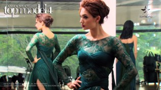 AsNTM4 Episode 4 - Jessica posing before the photoshoot