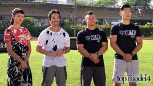 AsNTM4 Episode 9 - Kelly, Yu Tsai and the Ritual Gym fitness coaches at the challenge