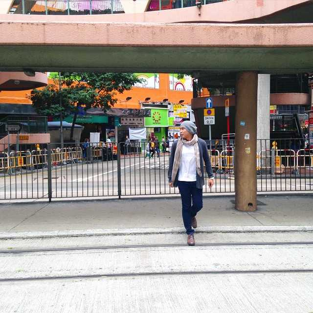 My OOTD on the streets of Hong Kong