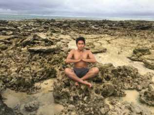 Yoga Pose #1 (Guyam Island)