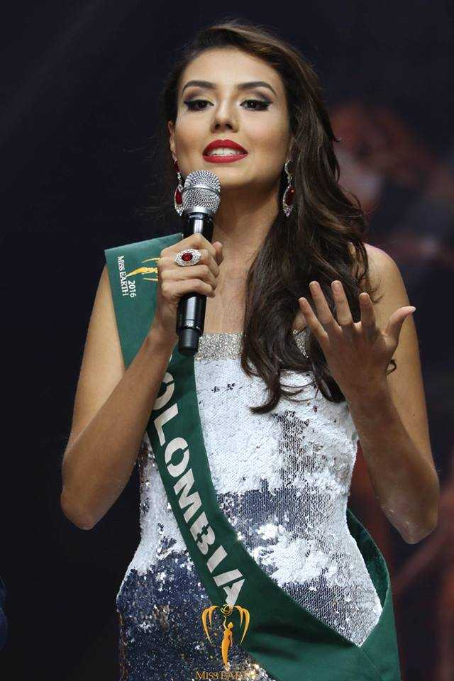Miss Earth Air 2016 Michelle Gomez from Colombia