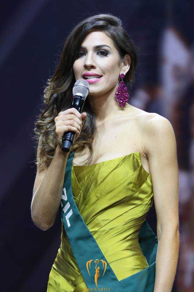 Miss Earth Water 2016 Bruna Zanardo from Brazil