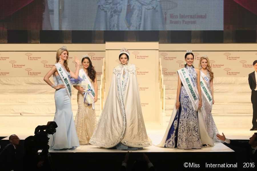 Miss International 2016 Top 5