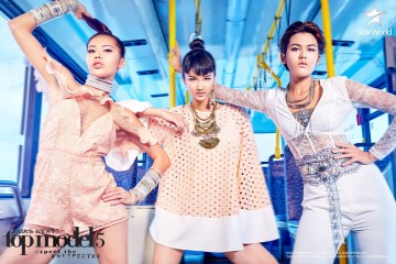 Tu, Cindy and Alicia in Asia's Next Top Model Cycle 5 Episode 4 5x04