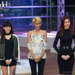 Maureen, Shikin and Tu, the final 3, in the Asia's Next Top Model Cycle 5 finale