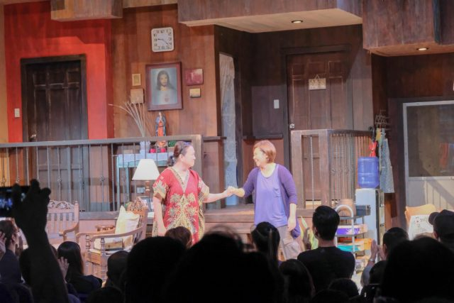 Eugene Domingo and Sherry Lara in PETA's 'night, Mother