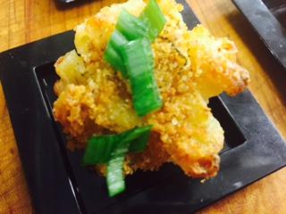 Truffle Mac and Cheese Bites