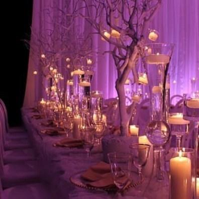 Tree Setting at a Wedding
