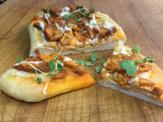 Standard Flatbreads - Buffalo Chicken Drizzled with Bleu Cheese Dressing