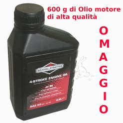 600 gr olio motore in omaggio