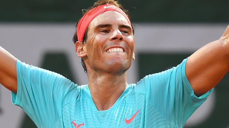 Rafael Nadal defeats Diego Swartzman to reach 13th French Open final