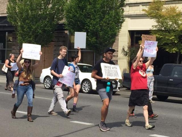AndreThompsonprotest