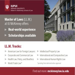 Study at IU Robert H McKinney School of Law