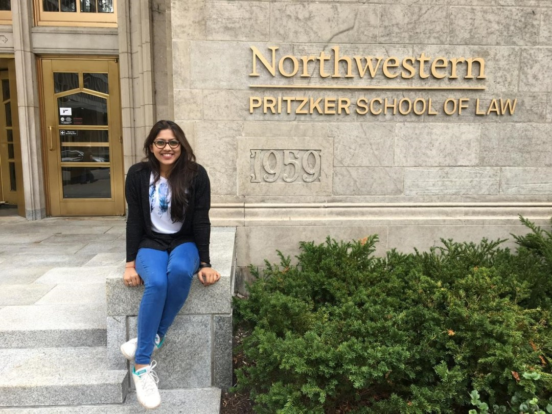Shagun Parekh graduated from the Pravin Gandhi College of Law in 2017, and enrolled for the LL.M. at Northwestern University's Pritzker School of Law