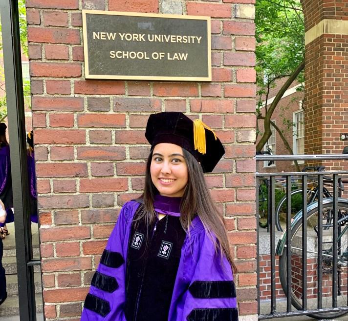 Kiran Devrani is a recent LLM graduate from the School of Law at New York University ('18).