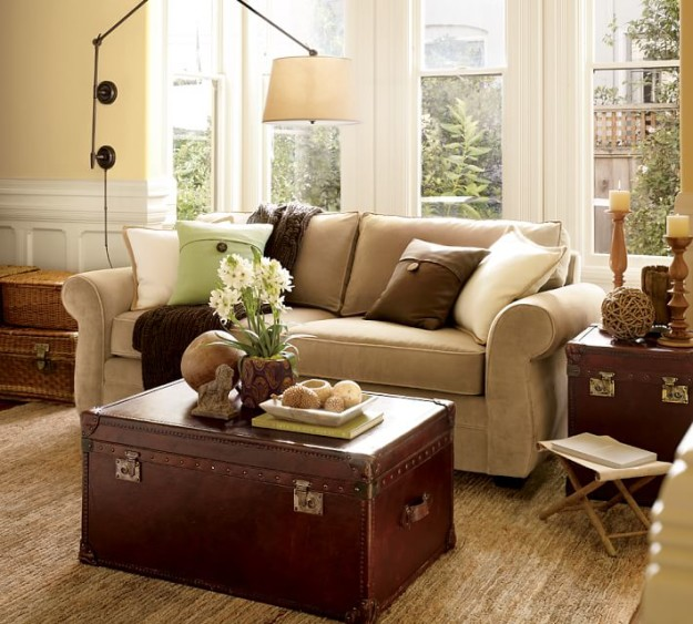pottery barn pictures of living rooms rustic side tables room modernizing and eclecticizing a privilege pearce sofa img78o