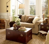 """Modernizing And """"Eclecticizing"""" A Pottery Barn Living Room ..."""