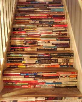 Stairs made of book