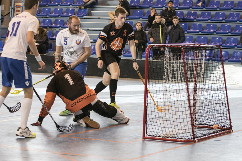 Amiens floorball vs AAEEC floorball