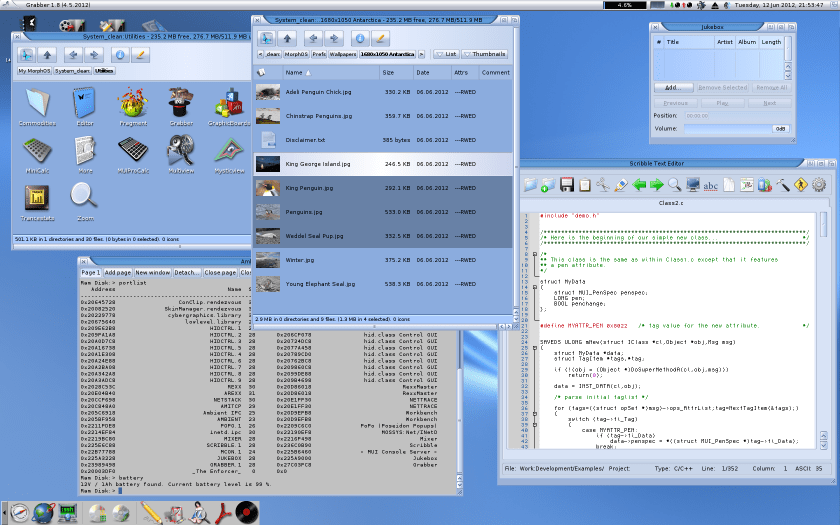 MorphOS_Defaultdesktop