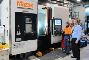 Siva and Michael - Mazak Integrex i200S Demo