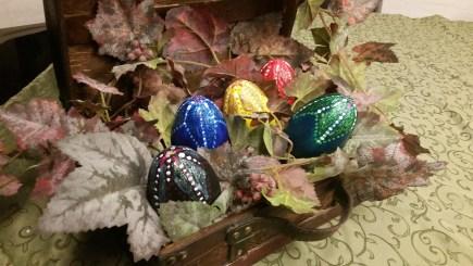 easter dragon eggs presentation