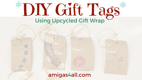 Oops! I forgot to buy gift tags. Now What do I do?
