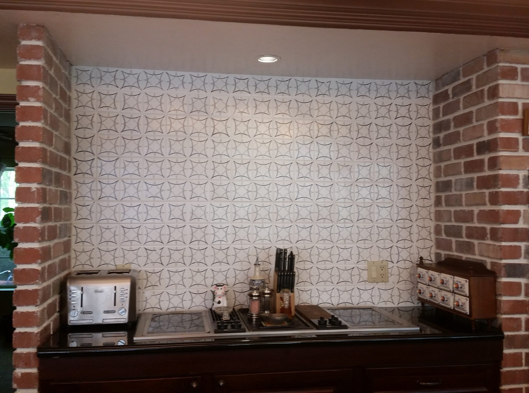 - How To Make A Fabulous Faux Cement Tile Backsplash (for Less Than