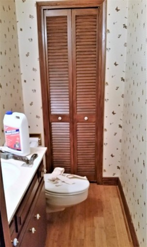 overall image powder room redo amigas4all