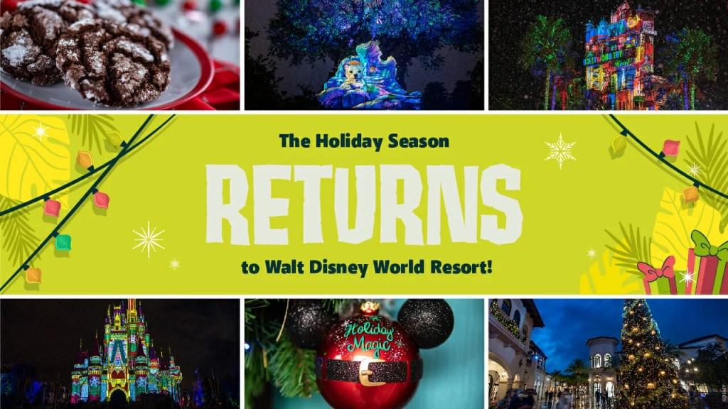 Como vai ser o Natal na Disney em 2021