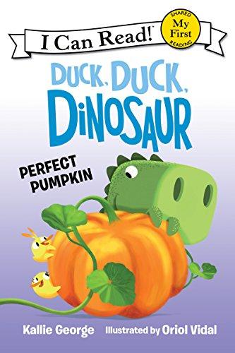 Duck, Duck, Dinosaur Perfect Pumpkin