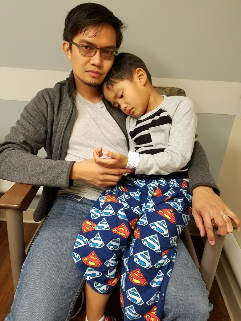 Surviving Our Son's Stomach Bug Woes