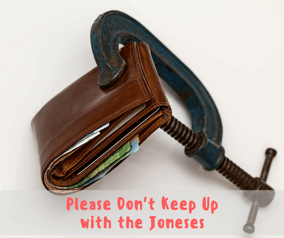 Please Don't Keep Up with the Joneses