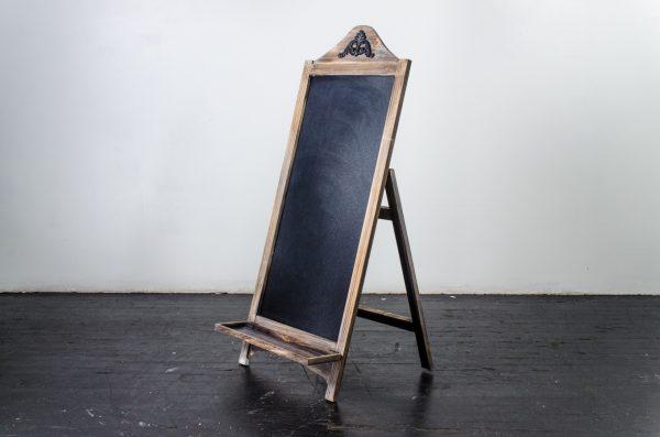 Events- Weddigs, chalkboard Weatherd Natural