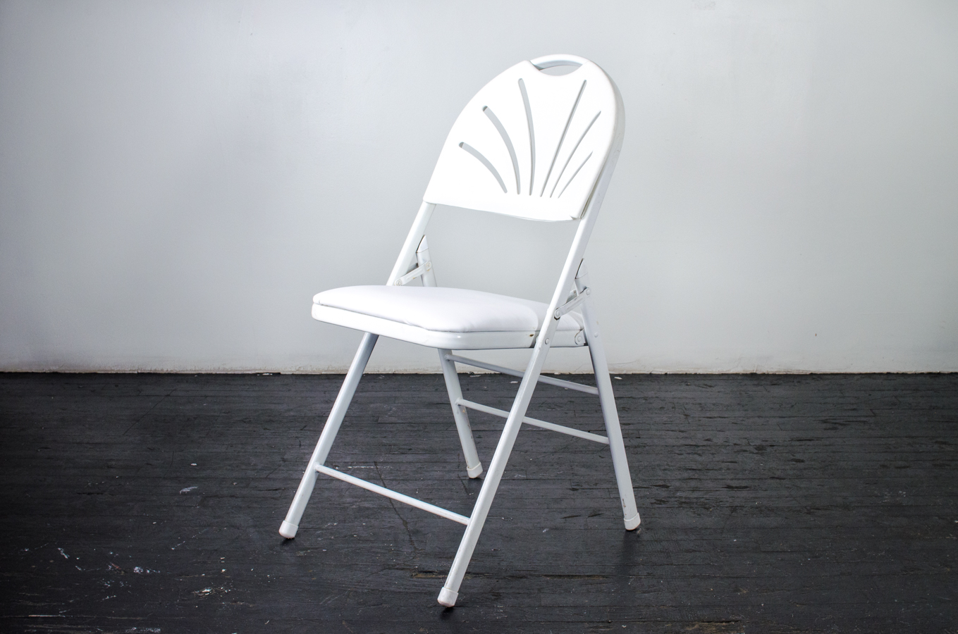 Fan Back Chair Chair Fan Back White Folding Amigo Party Rentals Inc