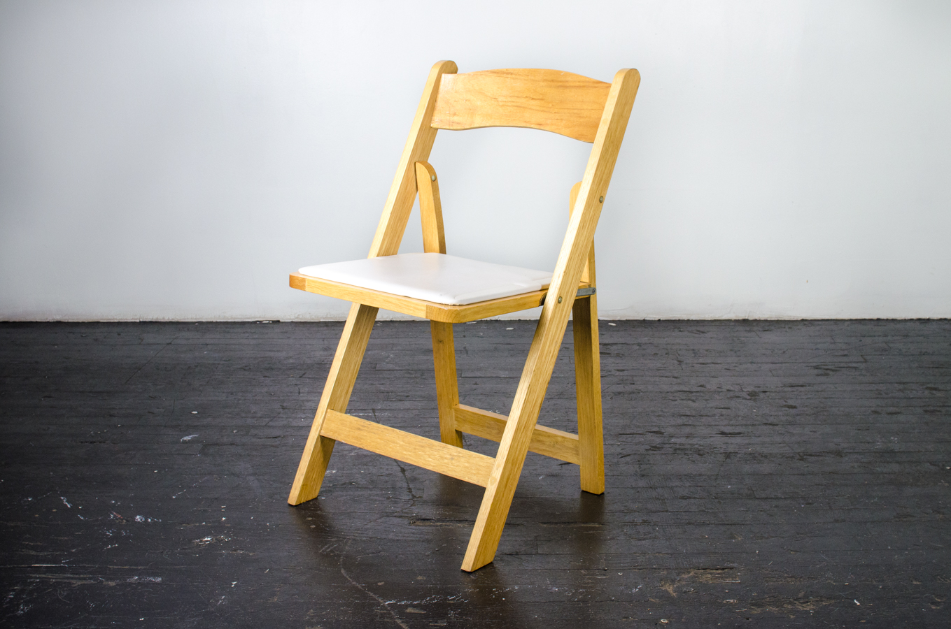 wooden folding chairs for rent acrylic chair clear natural wood amigo party rentals inc