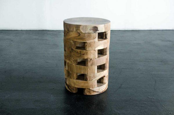 Side Table, Machado Wood