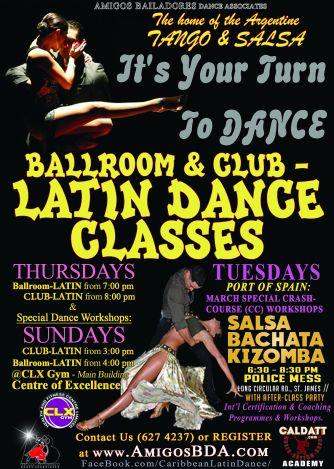 ABDA Ballroom and Latin Dance Classes in Trinidad and Tobago