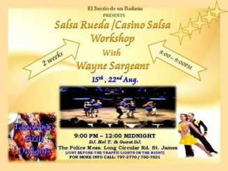 Salsa Rueda Workshop