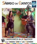 Cuentacuentos Carmen Sara 13-Mayo